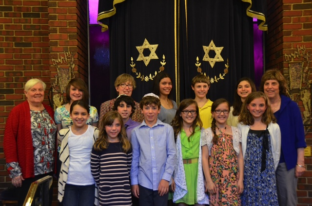 Hebrew School Graduation 2014